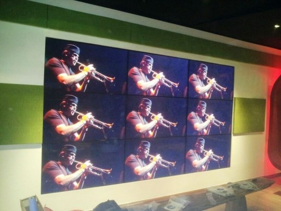 Safaricom Video wall